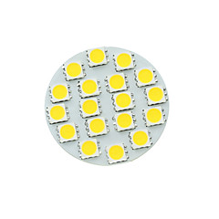 cheap LED Bulbs-SENCART 5W 450-480 lm G4 LED Spotlight MR11 18 leds SMD 5730 Dimmable Warm White Cold White Natural White DC 12V