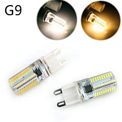 cheap LED Bulbs-YWXLight® Dimmable G9/G4/E14/BA15D 5W 80 SMD 3014 500 LM Warm White / Cool White LED Corn Lights AC 220 / AC 110 V
