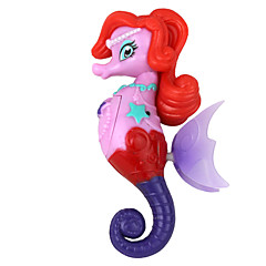 Electron Induction Swim Seahorse Princess Toy Red Purple Multicolor