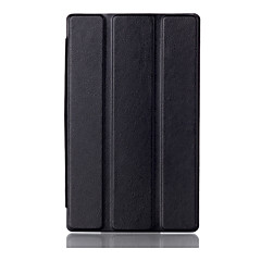 Pokrywa stojak magnesem dla CSE karcie Lenovo 3 7.0 710 niezbędna tab3 710f pu okładki skórzane etui ochronnym