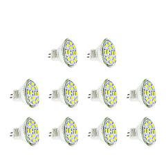 お買い得  LED 電球-3W GU4(MR11) LEDスポットライト MR11 12 LEDの SMD 5730 温白色 クールホワイト 250lm 3500/6000K DC 12V