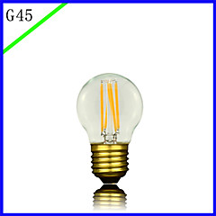 bofa led g45 3w antik edison silke ball boble lampe (85v-265v)