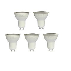 お買い得  LED 電球-7W 550-600 lm GU10 LEDスポットライト MR16 21 LEDの SMD 2835 温白色 AC 100-240V