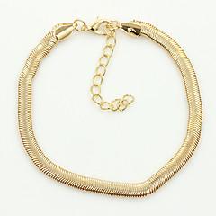 Χαμηλού Κόστους -Βραχιόλι αστραγάλου/Βραχιόλια Others Μοναδικό Μοντέρνα Κράμα Χρυσαφί Ασημί Γυναικεία Κοσμήματα 1pc