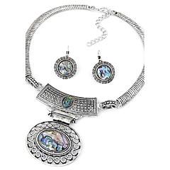 Sieraden set Modieus Vintage Zilver Ring oorbellen Ketting / Oorbellen Feest Dagelijks Causaal 1 Set Kettingen OorbellenGiften van het
