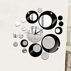 저렴한 -블랙 / 골드 / 실버-크리스마스 / 할로윈 / 새로움 / 만화-플라스틱-벽 스티커