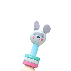 Holz blau Kind Rassel für alle Kinder Musikinstrumente Spielzeug