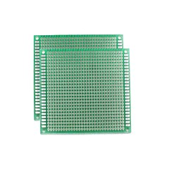 お買い得  アクセサリー-ユニバーサル両面PCBボード - グリーン(5 * 7センチメートル)