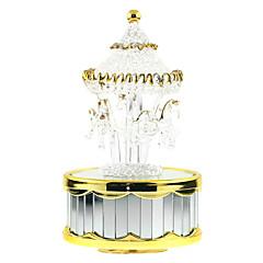 Music Box Zabawki Kaczka Cylindryczny Pianino Konik Karuzela Sztuk Dla chłopców Dla dziewczynek Urodziny Walentynki Prezent