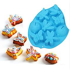 お買い得  ベイキング用品&ガジェット-ベークツール シリコーン エコ DIY Halloween チョコレート パイ クッキー ケーキ ベーキングモールド