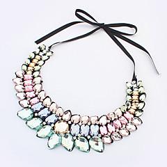 preiswerte Halsketten-Damen Anhängerketten / Kragen - damas, Europäisch, Modisch Regenbogen Modische Halsketten Schmuck Für Normal, Sport / Edelstein