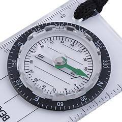 Kompassit Multi Function Vaellus Retkeily Ulkoilu Pyöräily Matkailu Muovi Valkoinen