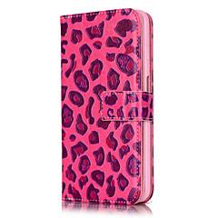Назначение Кейс для iPhone 6 Кейс для iPhone 6 Plus Чехлы панели Кошелек Бумажник для карт Флип Чехол Кейс для Леопардовый принт Твердый