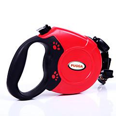 Hond Lijnen Verstelbaar / Uitschuifbaar Automatisch Effen Zwart Grijs Rood Blauw