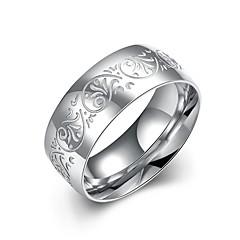preiswerte Ringe-Herrn Bandring / Statement-Ring / Ring - versilbert Quaste, Böhmische, Punk 7 / 8 / 9 Weiß / Weiß Für Hochzeit / Party / Alltag