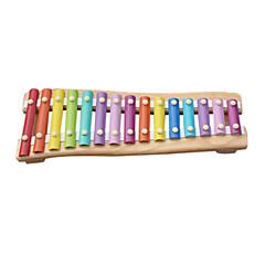 Drewno żółte dziecko ręką wbić pianinie dla dzieci wszystkie instrumenty muzyczne zabawki