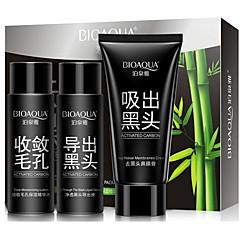 1 Masker Nat Kaki Witter Maken / Poriënverkleinend / Tegen acné / Verheldering / Cleansing / Mee-eters Gezicht Zwart Fade China BIOAQUA