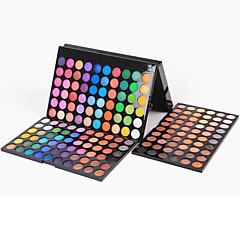 180 Paleta de Sombras Secos / Mate / Brilho Paleta da sombra Pó Grande Maquiagem Esfumada / Maquiagem de Festa