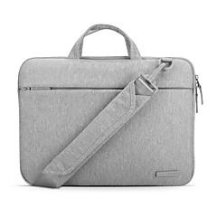 pofoko® 13/11/15 pulgadas portátil bolsa tela impermeable Oxford negro / gris