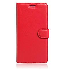 Недорогие Чехлы и кейсы для Motorola-Кейс для Назначение Moto G Motorola Мото Nexus 6 Кейс для Motorola Бумажник для карт Кошелек со стендом Флип Чехол Сплошной цвет Твердый