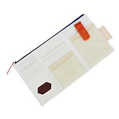 abordables Protección Ocular-bolso de múltiples funciones amarillento almacenamiento de la visera del estilo coreano