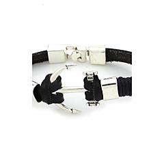 voordelige Herensieraden-Heren Dames Cuff armbanden Uniek ontwerp Modieus Leder Nylon Legering Sieraden Sieraden Voor Bruiloft Feest Dagelijks Causaal Sport