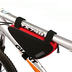 Χαμηλού Κόστους Τσάντες Ποδηλάτου-ROSWHEEL 1.5 L Τσάντα για σκελετό ποδηλάτου / Τσάντα πλαισίου τριγώνου Υδατοστεγανό, Φοριέται, Αντικραδασμική Τσάντα ποδηλάτου PVC / 600D πολυεστέρα Τσάντα ποδηλάτου Τσάντα ποδηλασίας