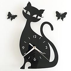 preiswerte Uhren-Freizeit Modern/Zeitgenössisch Büro/Geschäftlich Kunststoff Kreisförmig Drinnen,AA