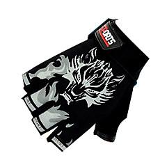 SANTIC Sports Gloves Bike Gloves / Cycling Gloves Breathable Anti-skidding Fingerless Gloves Cycling / Bike Men's Women's Unisex