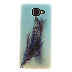 Na Samsung Galaxy Etui IMD / Wzór Kılıf Etui na tył Kılıf Pióro Miękkie TPU Samsung A7(2016) / A5(2016) / A3(2016) / A5 / A3
