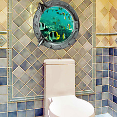 3D 벽 스티커 플레인 월스티커 / 3D 월 스티커 데코레이티브 월 스티커,PVC 자료 이동가능 홈 장식 벽 데칼