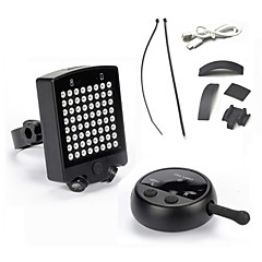 Fietsverlichting Achterlicht fiets LED - Wielrennen Oplaadbaar Waterbestendig Gemakkelijk draagbaar LED Lamp CR2032 Overige 120 Lumens