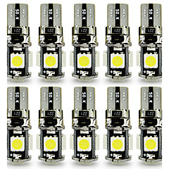 Недорогие Дневные фары-10 шт. T10 Автомобиль Лампы 3 W SMD 5050 120 lm 5 Светодиодная лампа Лампа поворотного сигнала For Универсальный