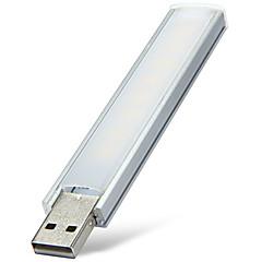 preiswerte USB Lampen-YWXLIGHT® 2W 180-220lm Girlande Tischleuchte Röhre 8 LED-Perlen SMD Dekorativ Warmes Weiß Kühles Weiß <5V