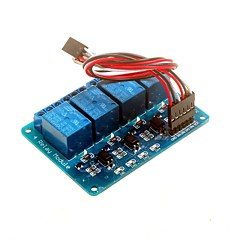 cheap -4-channel 5v Relay Module with Optocoupler DSP AVR PIC ARM  For Arduino