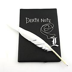 Bijuterii Inspirat de Death Note Cosplay Anime Accesorii Cosplay Colier Negru Aliaj Bărbătesc / Feminin