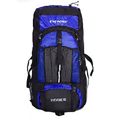 60 L Laptop csomagok / Túrázó napi csomag / Travel Organizer / hátizsák / Hátizsák Kempingezés és túrázás / Mászás / Kerékpározás