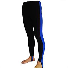baratos -Homens Mulheres Parte de Baixo de Fato de Banho Resistente Raios Ultravioleta Compressão Tactel Roupas de Mergulho Calças Roupa de Banho