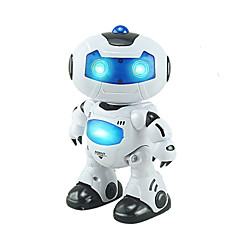 cheap Other RCs-RC Robot Kids' Electronics Robot Infrared ABS Singing Dancing Walking Remote Controlled Singing Dancing Music & Light
