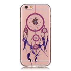 назад Бисквитный Other TPU Мягкий Transparent Для крышки случая Apple iPhone 6s Plus/6 Plus / iPhone 6s/6 / iPhone SE/5s/5