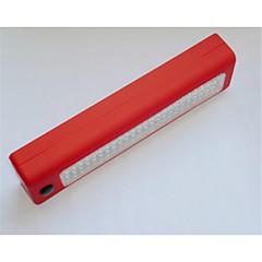 Недорогие Аварийные инструменты-72led работа светло-красный синий черный 24 + 3LED ремень ремонт крюк свет автомобиль свет работы