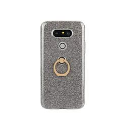 Недорогие Чехлы и кейсы для LG-Кейс для Назначение LG LG G5 LG G4 Кейс для LG Кольца-держатели Кейс на заднюю панель Сияние и блеск Твердый ТПУ для