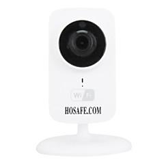olcso -hosafe vezeték nélküli IP kamera p2p / kétirányú audió / éjjellátó / támogatás 64g Micro SD kártya felvétel 30 nap