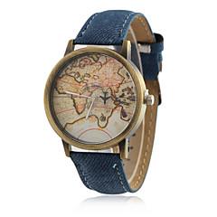 preiswerte Tolle Angebote auf Uhren-Damen Armbanduhr Quartz Armbanduhren für den Alltag PU Band Analog Charme Freizeit Modisch Schwarz / Weiß / Blau - Rot Grün Blau Ein Jahr Batterielebensdauer / SSUO LR626