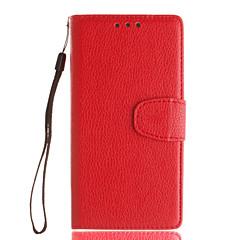 Для Кейс для Sony / Xperia XA / Xperia Z5 Other Кейс для Чехол Кейс для Один цвет Твердый Искусственная кожа для SonySony Xperia XA /