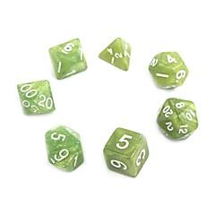 billige Dice og Chips-Terninger og jetoner Hobbylegetøj Firkantet Grøn