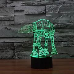 お買い得  パーティー用食器-3D ledの夜ライト家庭装飾高品質の夜の光