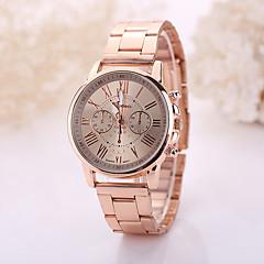 preiswerte Tolle Angebote auf Uhren-Geneva Damen Armbanduhr Armbanduhren für den Alltag / / Edelstahl Band Freizeit / Modisch Gold / Ein Jahr / Tianqiu 377