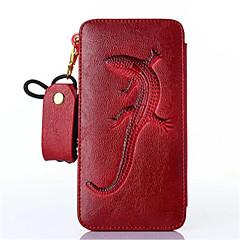 Для Кейс для iPhone 6 / Кейс для iPhone 6 Plus Кошелек / Бумажник для карт / Защита от удара Кейс для Чехол Кейс для Животный принт