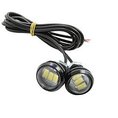 abordables Luces de Circulación Diurna-SO.K 20pcs Coche Bombillas 130 lm 1 las luces exteriores Para